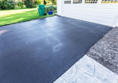 Gympie Concreters asphalt well laid on driveway